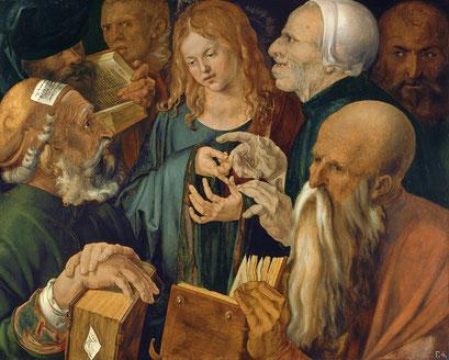 Jesus unter den Schriftgelehrten