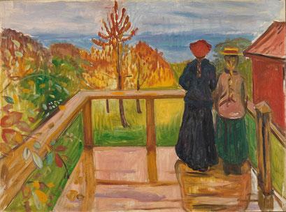 Auf der Veranda