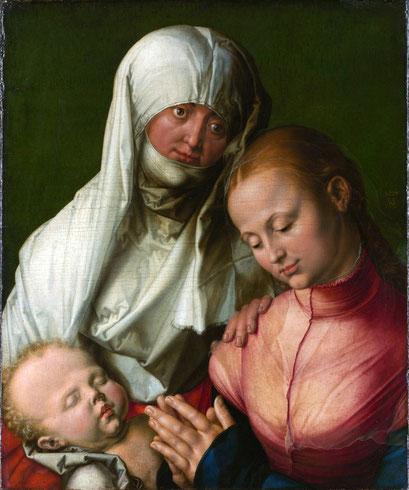 Jungfrau und Kind mit der heiligen Anna