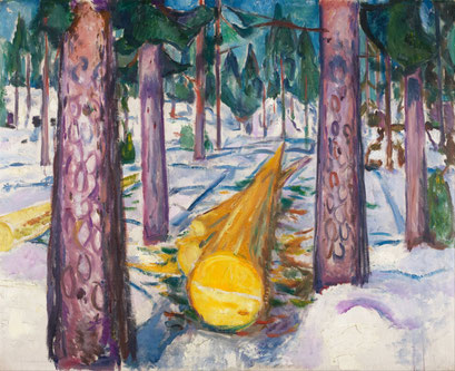 Der gelbe Baumstamm