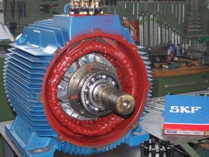 © Reparatur von Drehstrom-Motoren bei Elektromotoren - Reparaturwerk Rock  (Bild 4)