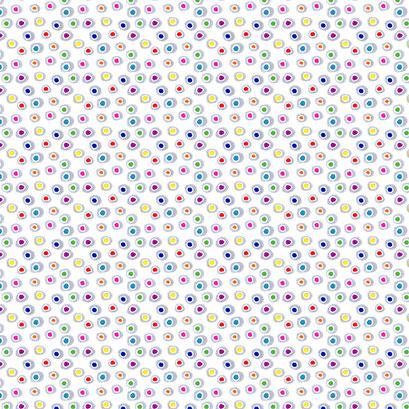 """""""Wandernde Punkte"""" - Punkte Design als Hintergrundmuster für eine Illustration"""
