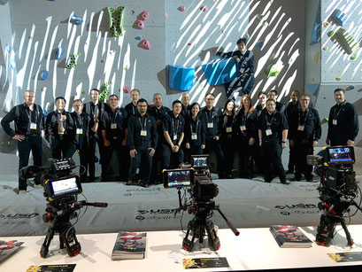 The Atomos crew...the best you can work with
