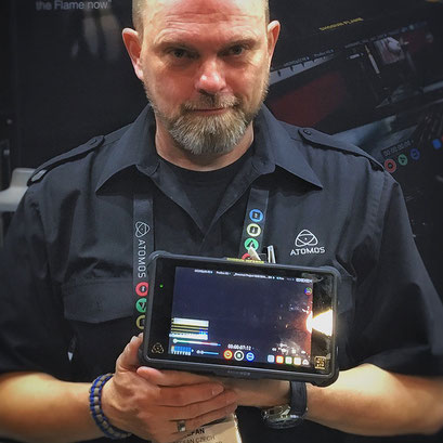 The brand new Atomos Shogun Inferno 4k60p