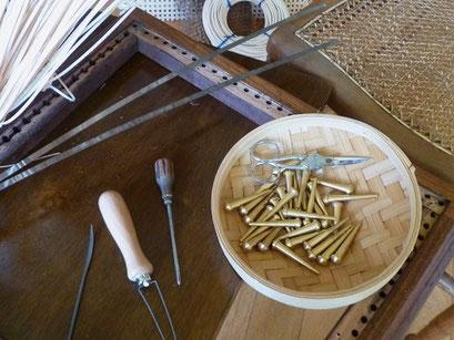 les outils du canneur