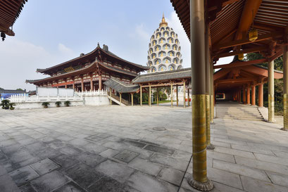 Der Baolin Tempel in Changzhou
