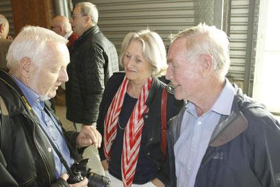 Günther Naumann und Brigitte Otto im Gespräch