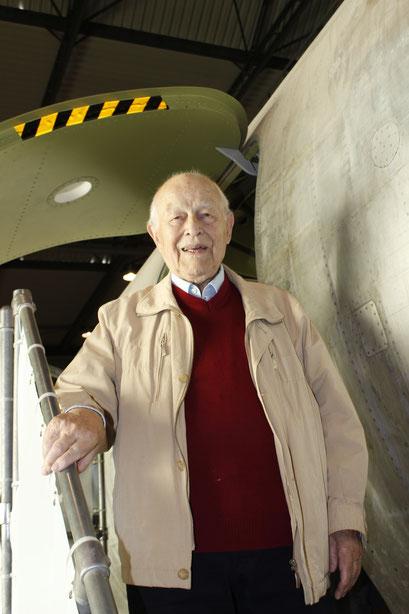 152- Pilot Gerhard Güttel war mit in der Maschine