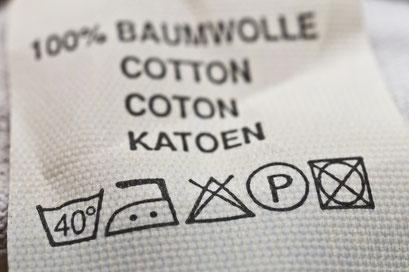 mueden.de, Gardinenservice, Bild Pflegeanleitung für Baumwollgardinen
