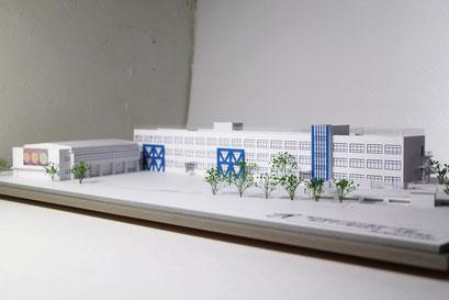 小学校 創立記念模型 S=1/200