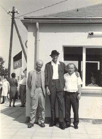 Wünschendorf Erzgebire Stolzenhain Erich Henker, Walter Drescher und Wolfgang Uhlig