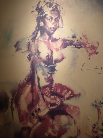 Bild: Gemälde des Künstlers Don Antonio Blanco