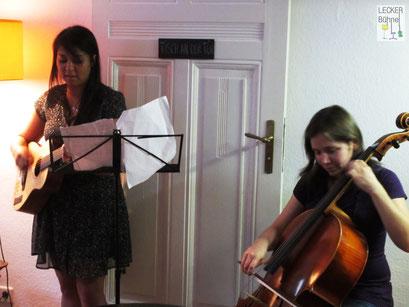 MIMI MIALY (Singer/Songwriter),  NATASHA JAFFE (Cellistin)