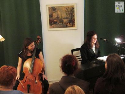 MELANIE HIERHAMMER (Singer/Songwriter/Pianistin), NATASHA JAFFE (Cellistin)