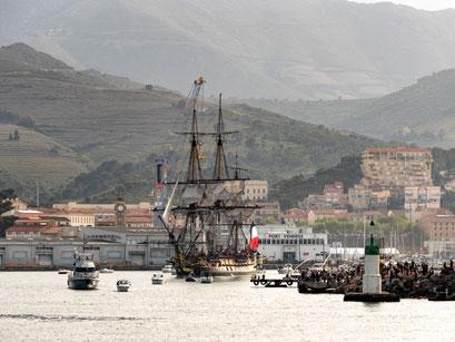 L'Hermione à port Vendre