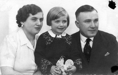Charlotte,Inge, Kurt Katt1939