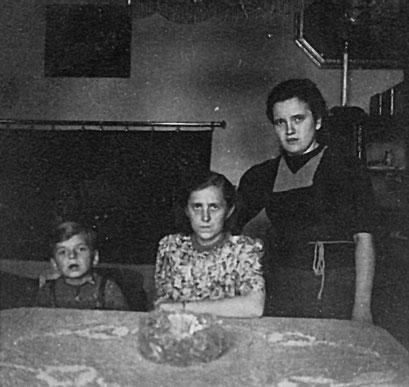 Rudi Katterwe, Gertrud + Liesel Knie