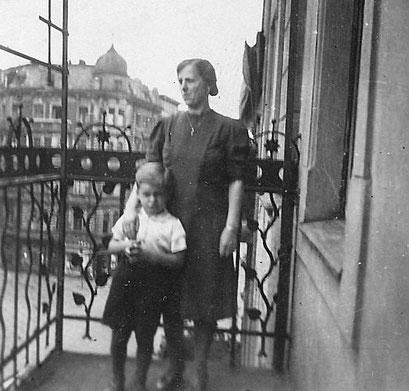 Rudi+Gertrud Katterwe Balkon Matthiasstr.