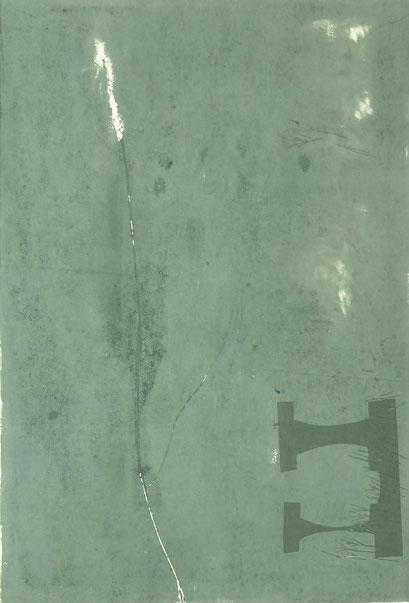 5034 - monotype - 55 x 38 cm
