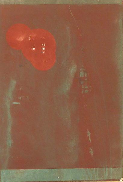 5025 - monotype - 55 x 38 cm