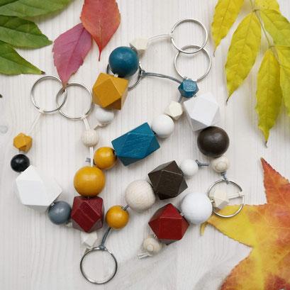 Patstell-grün Schlüsselanhänger Herbstfarben