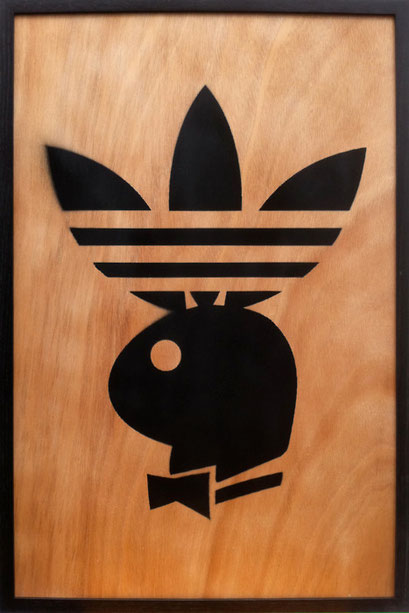 Laurent Gugli No Sport Spray Paint CP 75x50 cm