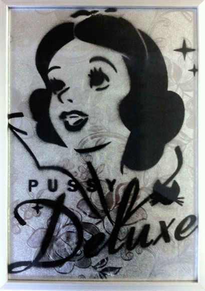 Laurent-Gugli-PussyDeluxe01-Stencil/Vinyl-29,7x21cm