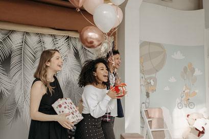 Geburtstagsparty mit Fotobox