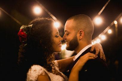 Hochzeitspaar vor unserer Fotobox