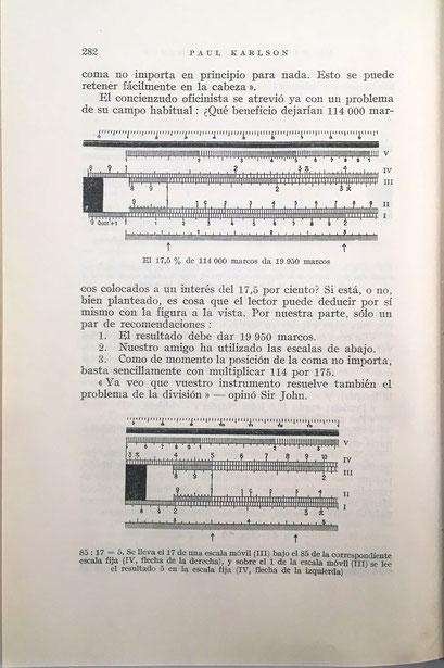 """En el capítulo V """"La Alta Escuela del Cálculo"""" se estudian los principios básicos y los fundamentos de los logaritmos y las reglas de cálculo"""