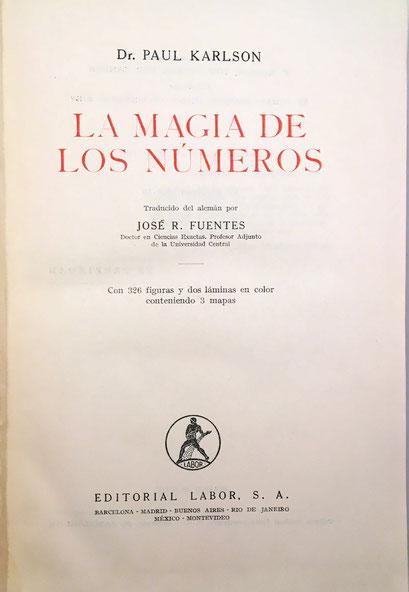 Editorial Labor, traducido por José R. Fuentes