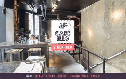 Jimdo Design-Vorlage Stockholm V1