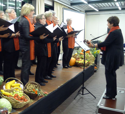 Der Lutherchor , Leitung: Magrit Cords (Foto: Dorit Hartz)