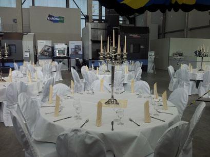 Ausstattung Hausmesse und Gala-Abend