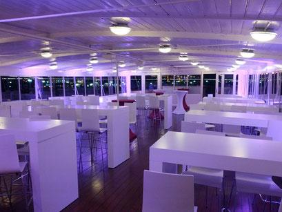 Kundenveranstaltung in Genf CH mit Mietmöbeln von JansenEvent