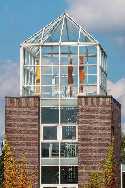 Versammlung im Turm  Kunst im öffentlichen Raum