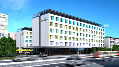 Hotel 3D-Visualisierung