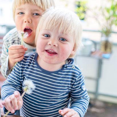 Fotoshooting Geschwister Kinder