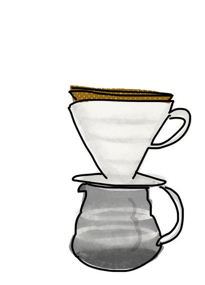 Kaffee Print HANDFILTER