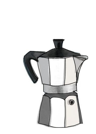 Coffee Print MOKKA BIALETTI
