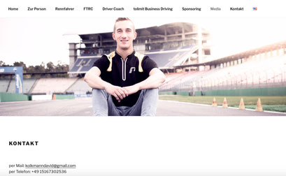 David Kolkmann | Rennsportler | u.a. Project1 by Deutsche Post,