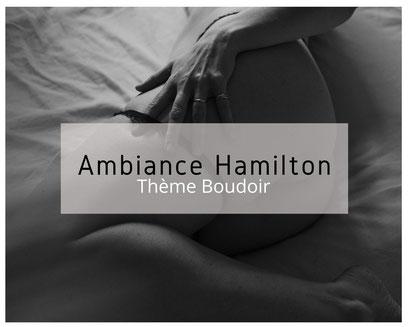 Photo à thème boudoir ambiance Hamilton