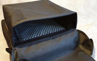 Gepäckträgertasche, Packtasche, Doppel, Fahrrad, feewerk, innen