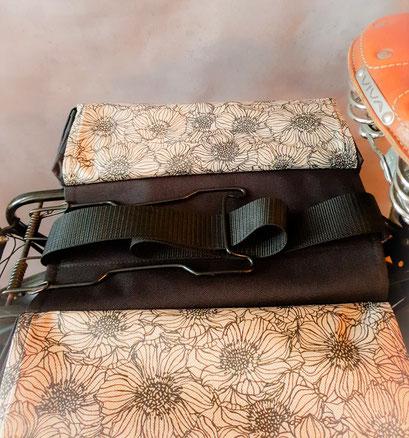 Gepäckträgertasche, Packtasche, Doppel, Fahrrad, feewerk, befestigung,