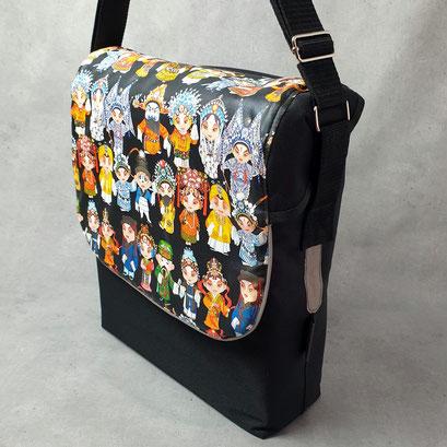 Gepäckträgertasche, Packtasche, Kleiner Karl, Folk,