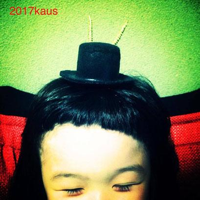 klamps 人形用の帽子に、個人的には帽子の後ろ側に着けるとよりクランプス感が出ると思います★