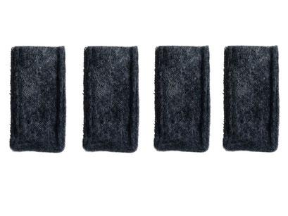 manufra Stuhlbeinsocke grau-meliert 4