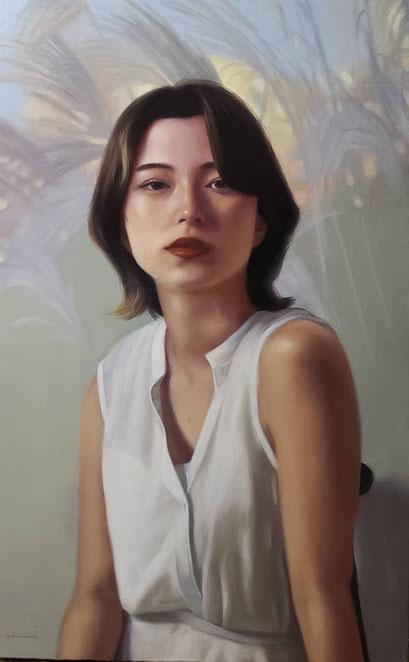 山本 周 530×333(M10) 「いつかきっと」 キャンバス 油彩