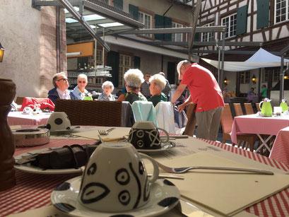 Brunch im Restaurant Löwenzorn