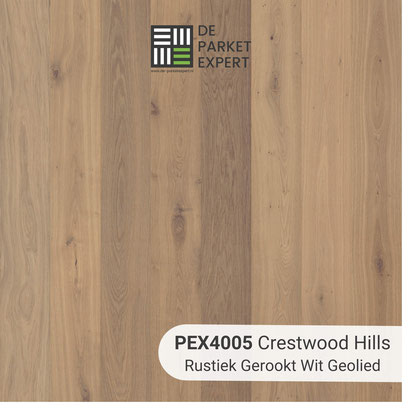 PEX4005 Crestwood Hills Rustiek Gerookt Wit Geolied